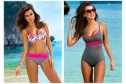 Zmysłowa Natalia Siwiec w kampanii kostiumów kąpielowych marki Gabbiano